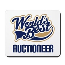 Auctioneer Gift (Worlds Best) Mousepad
