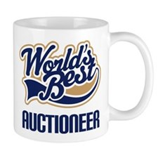 Auctioneer Gift (Worlds Best) Small Mug