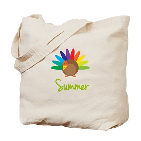 Summer the Turkey Tote Bag