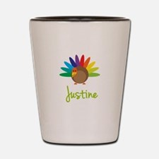 Justine the Turkey Shot Glass