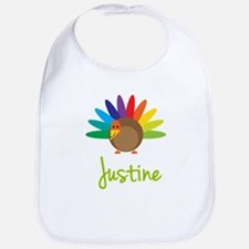 Justine the Turkey Bib