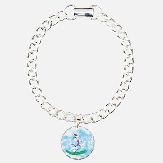 Christmas Holiday Lady Runner Bracelet