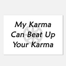 Karma Beat Down Postcards (Package of 8)