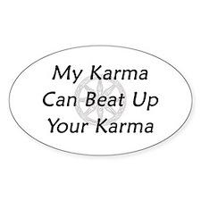 Karma Beat Down Decal