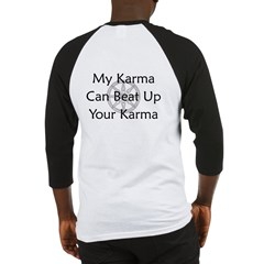 Karma Beat Down Baseball Jersey
