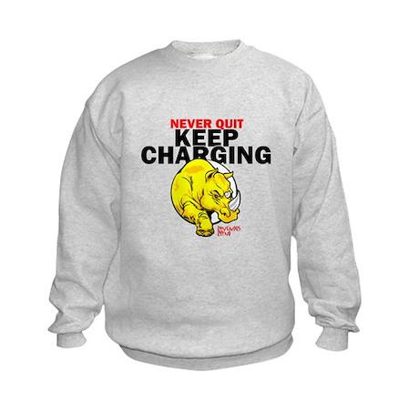 Keep Charging Kids Sweatshirt