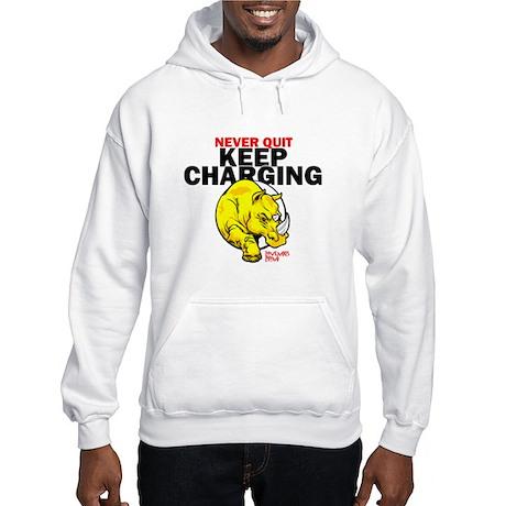 Keep Charging Hooded Sweatshirt