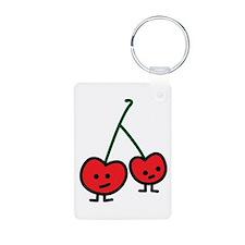 Happy Cherries Keychain