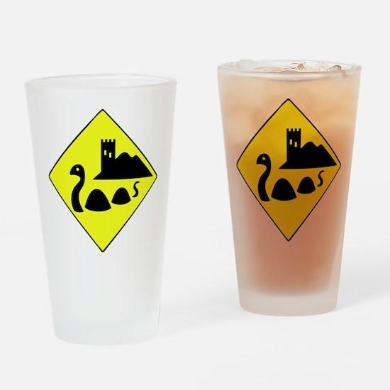 Nessie Drinking Glass
