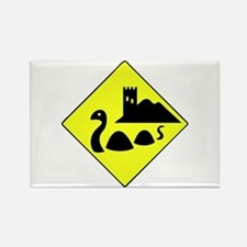 Nessie Rectangle Magnet