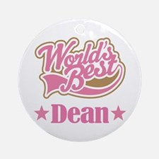 Dean Gift (World's Best) Ornament (Round)