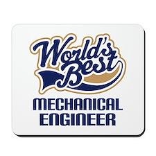 Mechanical Engineer Gift (World's Best) Mousepad