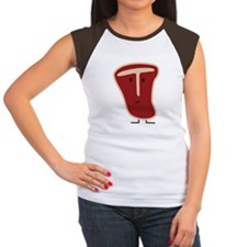 T-Bone Steak Women's Cap Sleeve T-Shirt