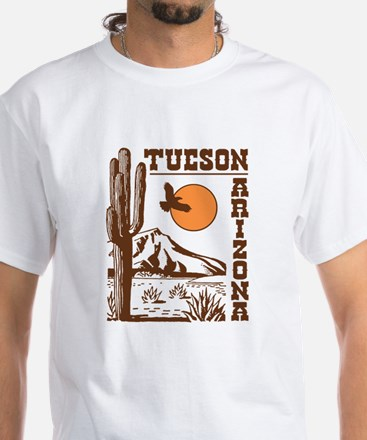 Tucson Arizona White T-Shirt