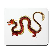 The Ruby Dragon Mousepad