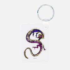 The Amethyst Dragon Keychains