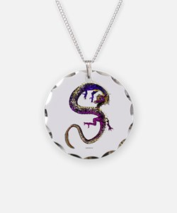 The Amethyst Dragon Necklace