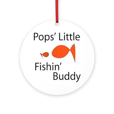 Pops' Fishin' Buddy Ornament (Round)