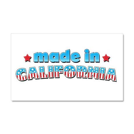 Made in California Car Magnet 20 x 12