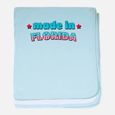 Made in Florida baby blanket