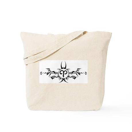 Tribal Aries Tees Tote Bag
