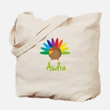 Audra the Turkey Tote Bag