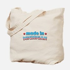 Made in Michigan Tote Bag