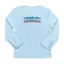 Made in Michigan Long Sleeve Infant T-Shirt