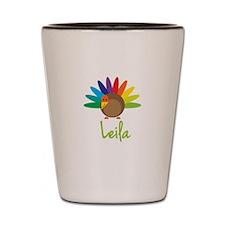 Leila the Turkey Shot Glass