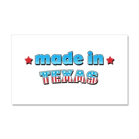 Made in Texas Car Magnet 20 x 12