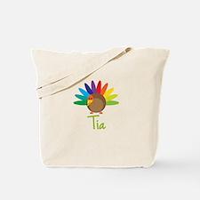 Tia the Turkey Tote Bag
