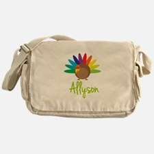 Allyson the Turkey Messenger Bag