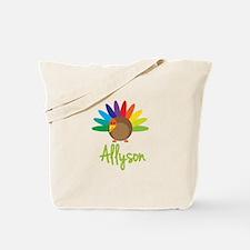 Allyson the Turkey Tote Bag
