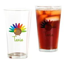 Tania the Turkey Drinking Glass