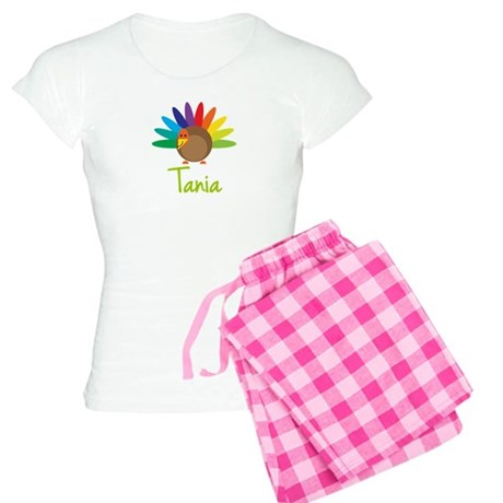 Tania the Turkey Women's Light Pajamas