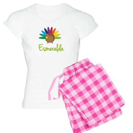 Esmeralda the Turkey Women's Light Pajamas