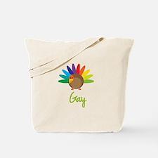 Gay the Turkey Tote Bag