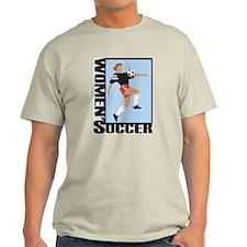 Women's Soccer Ash Grey T-Shirt