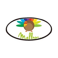 Mallory the Turkey Patches