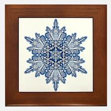 Snowflake 11 Framed Tile