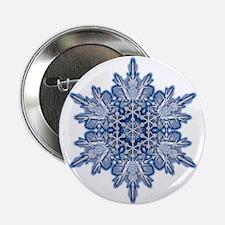 "Snowflake 11 2.25"" Button"