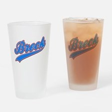 Breck Tackle and Twill Drinking Glass