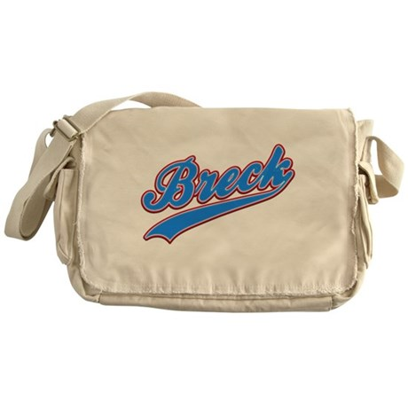 Breck Tackle and Twill Messenger Bag