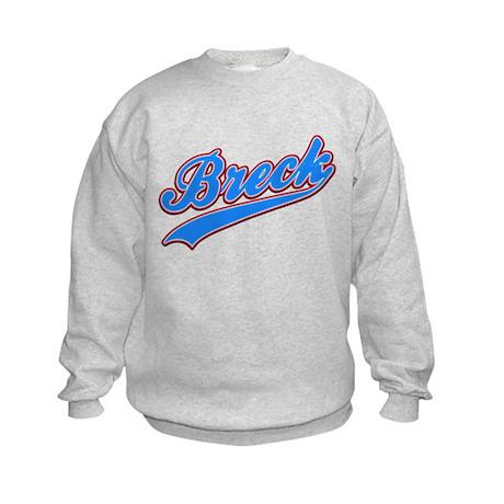 Breck Tackle and Twill Kids Sweatshirt
