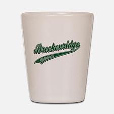 Breckenridge Tackle and Twill Shot Glass