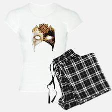 Venetian Mask: Ruby Jewel Pajamas