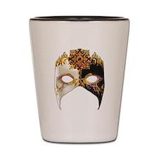 Venetian Mask: Ruby Jewel Shot Glass