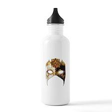 Venetian Mask: Ruby Jewel Water Bottle