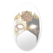 Venetian Mask: Ruby Jewel Decal