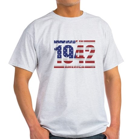 1942 Made In America Light T-Shirt